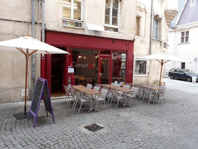 Comptoir saint Michel Une terrasse pour l'été à Nancy